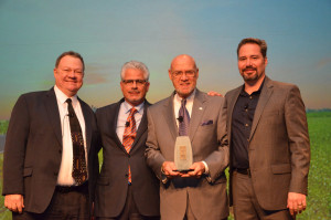 Pioneer Award: Steve Howell and Paul Nazzaro/NBB, John Maniscalco/NYOHA and Joe Jobe/NBB